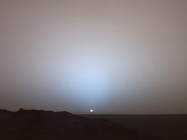 Transit of Earth from Mars